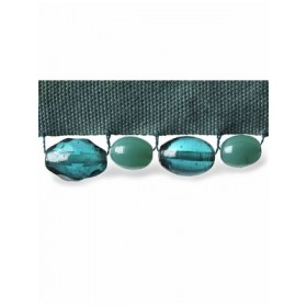 Dramatic Jeweled Cord | Turquoise by Robert Allen