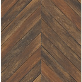 2540-24007 Parisian Chestnut Parquet Wallpaper
