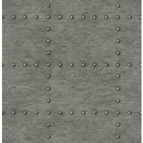 2540-24016 Otto Pewter Hammered Metal Wallpaper