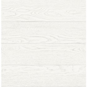 2540-24030 Salvaged Wood White Plank Wallpaper