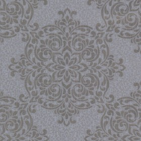 Gabrielle Grey Lace Feature Wallpaper