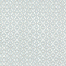 Austen Light Blue Small Geo Wallpaper
