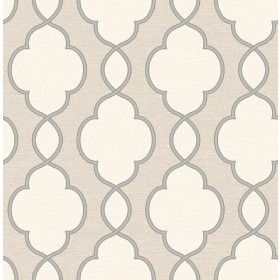 Structure Light Brown Chain Link Wallpaper