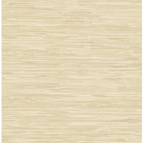 Natalie Taupe Faux Grasscloth Wallpaper
