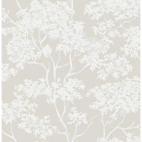 For Your Bath III Paix Grey Trees Wallpaper