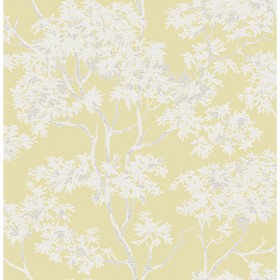 For Your Bath III Paix Yellow Trees Wallpaper