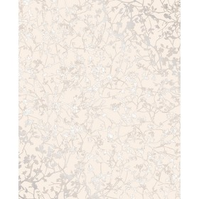 Essence Palatine Cream Leaves Wallpaper