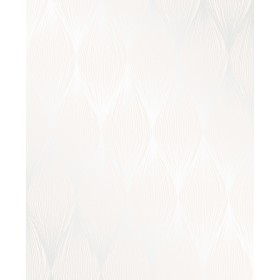 Essence Gleam Cream Linear Ogee Wallpaper