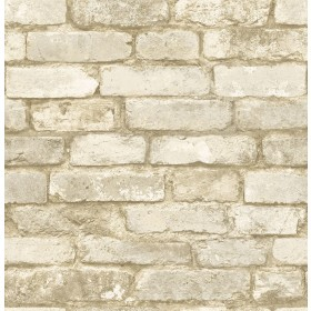 2767-20098 Libra White Brick Texture Wallpaper