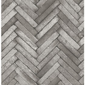 2767-23760 Arrow Dark Grey Diagonal Slate Wallpaper