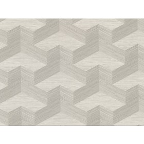 2829-82053 Y Knot Light Grey Geometric Texture Wallpaper