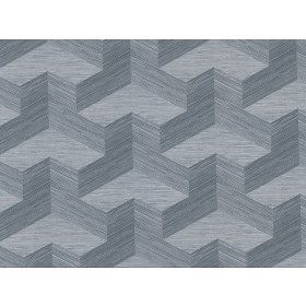 2829-82064 Y Knot Slate Geometric Texture Wallpaper