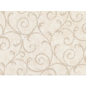 2830-2735 Sansa Cream Plaster Scroll Wallpaper