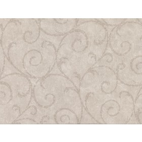 2830-2737 Sansa Khaki Plaster Scroll Wallpaper