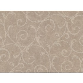 2830-2738 Sansa Light Brown Plaster Scroll Wallpaper