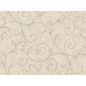 2830-2739 Sansa Beige Plaster Scroll Wallpaper