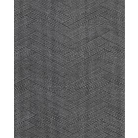 2830-2760 Karma Charcoal Herringhone Weave Wallpaper