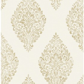 2834-25042 Pascale Off-white Medallion Wallpaper