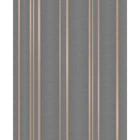 2834-42351 Thierry Taupe Stripe Wallpaper