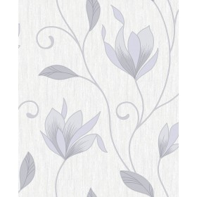 2834-M0852 Anais Grey Floral Trails Wallpaper