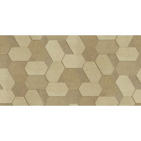 2835-C88602 Plaza Light Brown Geometric Wallpaper