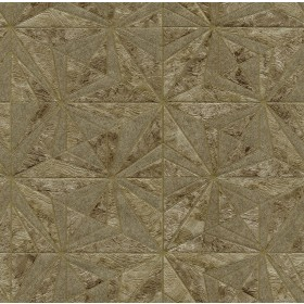 2835-C88614 Los Cabos Brown Marble Geometric Wallpaper