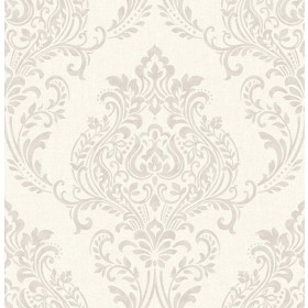 2836-22016 Falstaff Cream Damask Wallpaper