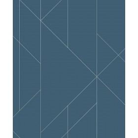 2889-25200 Torpa Blue Geometric Wallpaper