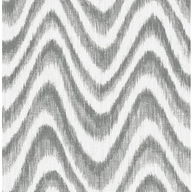 2901-25407 Bargello Grey Faux Grasscloth Wave Wallpaper