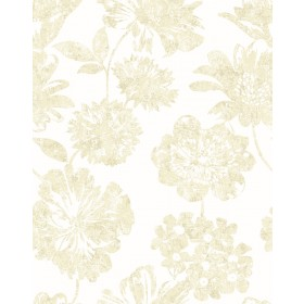 2901-25417 Folia Beige Floral Wallpaper