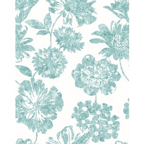 2901-25419 Folia Light Green Floral Wallpaper