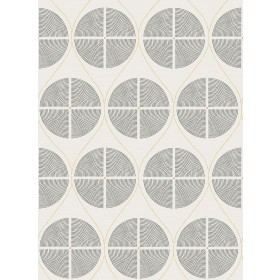 2901-25425 Luminary Grey Ogee Wallpaper