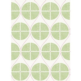 2901-25426 Luminary Green Ogee Wallpaper