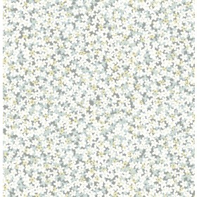 2901-25444 Giverny Multicolor Miniature Floral Wallpaper