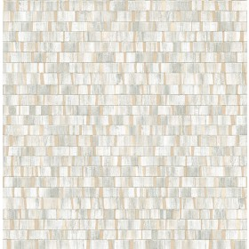 2908-24924 Dobby Champagne Geometric Wallpaper