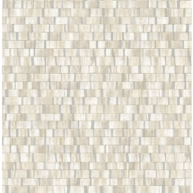 2908-24926 Dobby Cream Geometric Wallpaper