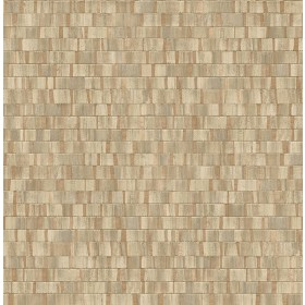 2908-24927 Dobby Copper Geometric Wallpaper