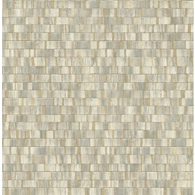 2908-24959 Dobby Gold Geometric Wallpaper