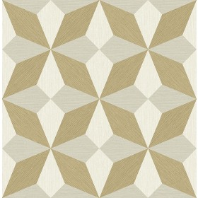 2908-25302 Valiant Beige Faux Grasscloth Geometric Wallpaper
