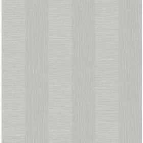 2908-25305 Intrepid Light Grey Faux Grasscloth Stripe Wallpaper