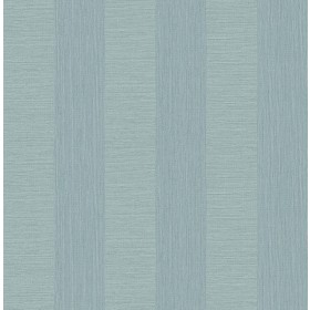 2908-25309 Intrepid Aqua Faux Grasscloth Stripe Wallpaper