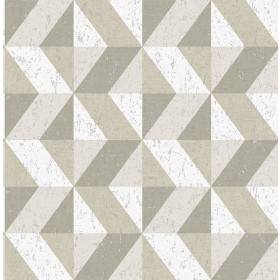 2908-25313 Cerium Neutral Concrete Geometric Wallpaper