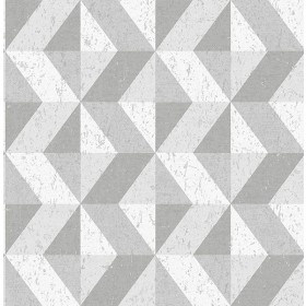 2908-25314 Cerium Grey Concrete Geometric Wallpaper