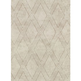 2921-51005 Dartmouth Taupe Faux Plaster Geometric Wallpaper