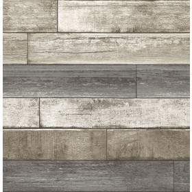2922-22345 Porter Brown Weathered Plank Wallpaper