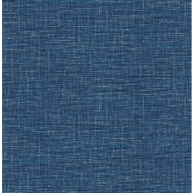 2969-24120 Exhale Dark Blue Woven Texture Wallpaper