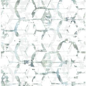 2969-26042 Augustine Slate Distressed Geometric Wallpaper