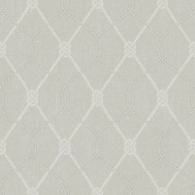 Tradewinds Grey Trellis Wallpaper