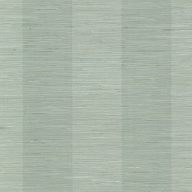 Oakland Aqua Grasscloth Stripe Wallpaper (3113-256011)