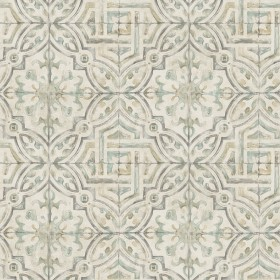 3117-12335 Sonoma Olive Spanish Tile Wallpaper